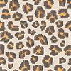 Leopard Halbton nahtlose Muster