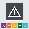 Probleme mit dem Auto flach icon