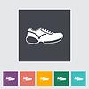 Schuhe flach icon