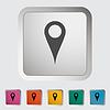 Map-Zeiger einzelnes Symbol