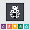 Foto downloaden einzigen flachen icon