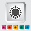 Sun Einzel-Symbol