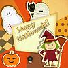Halloween Retro-Karte