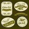 ID 3790447 | Olive oil vintage labels | Klipart wektorowy | KLIPARTO