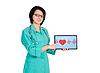 ID 3839954 | Herzschlag auf Touchpad | Foto mit hoher Auflösung | CLIPARTO