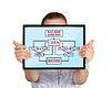 ID 3864118 | Touch pad ze strategią biznesową | Foto stockowe wysokiej rozdzielczości | KLIPARTO