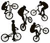 Biker Silhouetten
