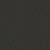 Abstrakte geometrische Muster - geschwungene Linien auf dunklem