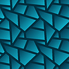 nahtlose geometrische Muster poligonal - abstrakter