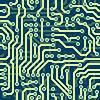 Hightech schematische nahtlose Textur - electronic