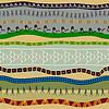 Nahtlose Muster mit primitiven Mustern und