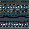 Tribal nahtlose Textur