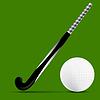 Stick and Ball Feldhockey