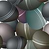 Nahtlose Textur mit Meer Steine