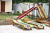 Во внутреннем пенсионного летних каникул двор | Фото