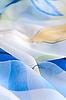 Niebieski tkaniny | Stock Foto