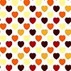 Valentine nahtlose Hintergrund | Stock Vektrografik