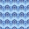 Фон - Голубые цветы | Векторный клипарт