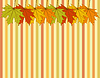 Abstrakt Herbstliche Wallpaper | Stock Illustration