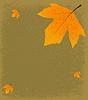 Grunge Herbstliche Hintergrund | Stock Vektrografik