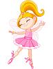 Kleine Fee-Ballerina