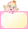 Princess einladen oder Transparent