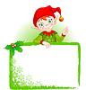 Christmas Elf einladen & Tischkarte