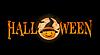Halloween-Banner mit Kürbis