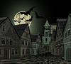 Spooky Nacht in der Stadt