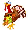 Türkei mit Füllhorn