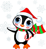 Cute Christmas Pinguin