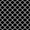 Schwarz und weiß nahtlose muster