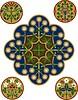 Zestaw ornamenty | Stock Vector Graphics