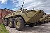 ID 3771254 | Kołowa ziemnowodny transporter opancerzony BTR-80 | Foto stockowe wysokiej rozdzielczości | KLIPARTO