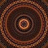 Mandala. Okrągły ornament | Stock Vector Graphics