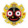 Jagannath. Indian Boga Wszechświata | Stock Vector Graphics