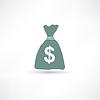 Tasche mit Geld-Symbol
