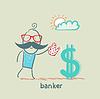Bankier Bewässerung Dollar