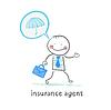 Versicherungsvertreter Versicherungsvertreter ist über das Denken