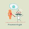 Rheumatologe sagt über Schmerzen in den Gelenken