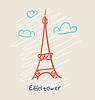 Eiffelturm-Symbol