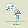 Übersetzer über Briefe denken