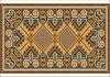 Orientteppich in warmen orange-braun Nuancen