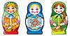 Russischen Puppen - Matroschka