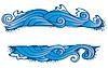 Vier Elemente 'frame: Wasser