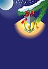 Weihnachts-Laterne Hintergrund