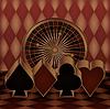 Casino-Glücksspiel-Karte, Vektor-Illustration