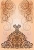 Свадебное приглашение - поздравительная открытка | Векторный клипарт