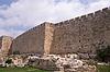 옛 예루살렘의 벽 | Stock Foto