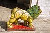 Statue von Löwen auf Jerusalem Straßen | Stock Foto